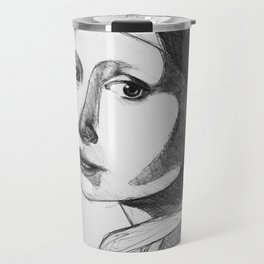 Girl with a Pearl Earring Travel Mug