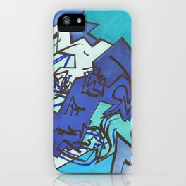 Skull Jiggy Jigsaw iPhone Case