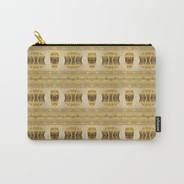 Ethnic african golden pattern. Carry-All Pouch