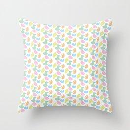 Colour me pattern... Throw Pillow