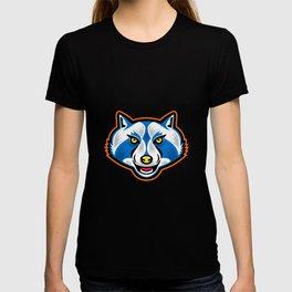 North American Raccoon Mascot T-shirt