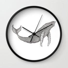 Megaptera Novaeangliae [Ted] Wall Clock