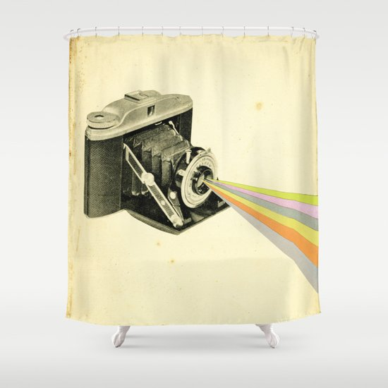 It's a Colourful World Shower Curtain