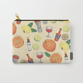 cocktail recipe pattern _ zombie Carry-All Pouch