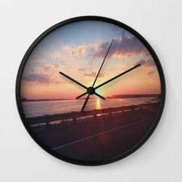 The Great River Road Wall Clock