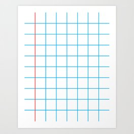 The Mathematician Art Print