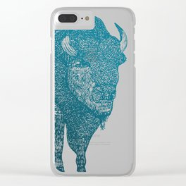 The Bison Clear iPhone Case