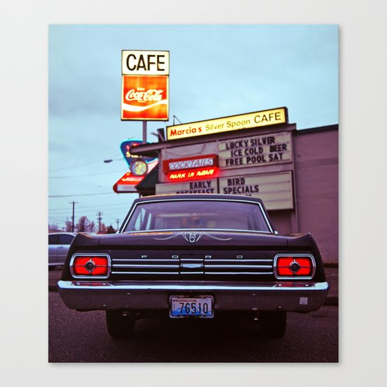 Classic Cafe Canvas Print