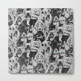Dapper Dogs Metal Print