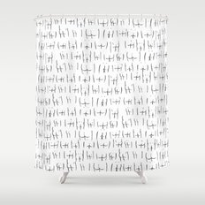 butts butts butts Shower Curtain