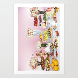Pastry Party  Art Print