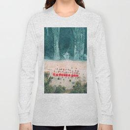Beach sky view Long Sleeve T-shirt