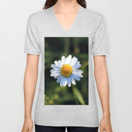 Chamomile flower Unisex V-Neck