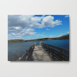 Burke Lake Virginia Metal Print
