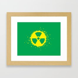 Square Heroes - hulk Framed Art Print