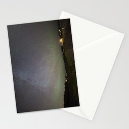 Airglow and the Milkyway at Pebble Beach Stationery Cards