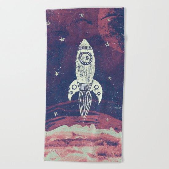 Space Adventure Beach Towel