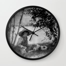 My Buddy and Me Wall Clock