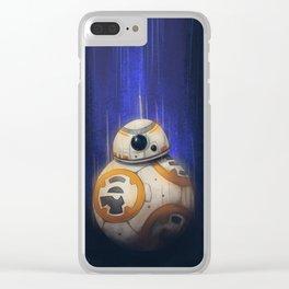 Fan Art - BB8 Clear iPhone Case