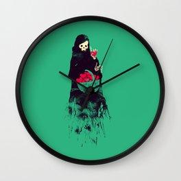 Death Valentine Gift Wall Clock