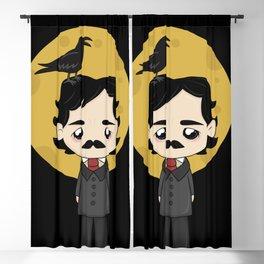 Cute Edgar Allan Poe Blackout Curtain