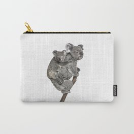 Mother Koala and her Baby Carry-All Pouch
