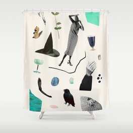 SCAVENGER HUNT Shower Curtain