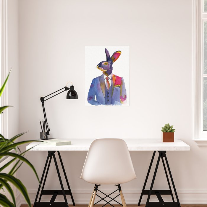 Belgian Hare Poster