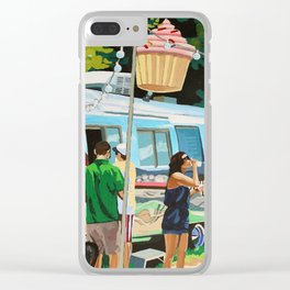 Hey Cupcake! Clear iPhone Case