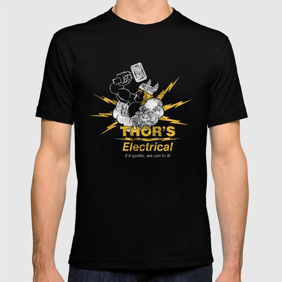Thor - Thor's Electrical T-shirt