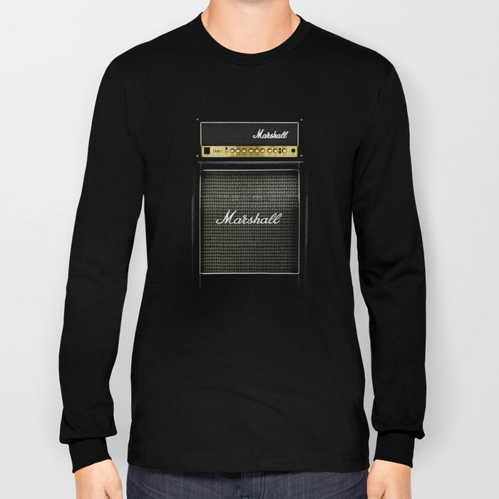 guitar electric amp amplifier iPhone 4 4s 5 5s 5c, ipod, ipad, tshirt, mugs and pillow case Long Sleeve T-shirt