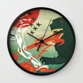 Tokyo or Bust Wall Clock