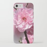 cherry blossoms iPhone & iPod Cases featuring Cherry Blossoms by Zen and Chic