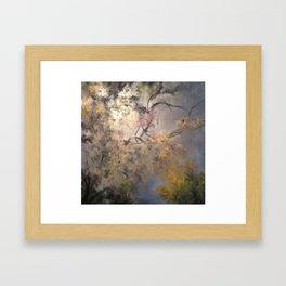 The Sky Above by Rushingwater Studios Framed Art Print