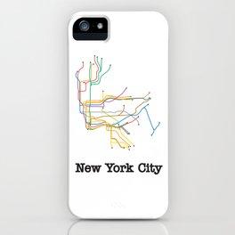 New York City Subway iPhone Case