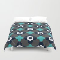 barcelona Duvet Covers featuring barcelona by her art