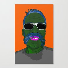 Mr Pickel Buff Canvas Print