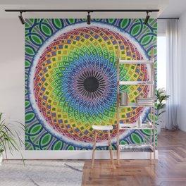 Cosmic Sunflower Wall Mural
