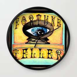 Fortune Teller Wall Clock