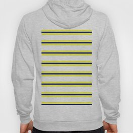 Nautical Yellow, White and Navy, Crisp and Clean Lines Hoody