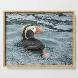 Tufted Puffin Serving Tray
