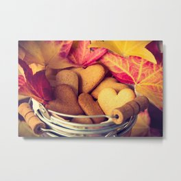 Autumn cookies Metal Print