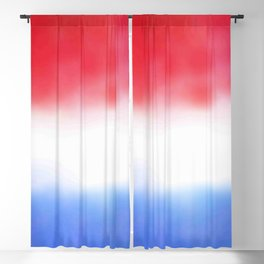 Flag of Netherlands 3 - with cloudy colors Blackout Curtain