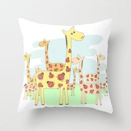 I see Bugs Throw Pillow