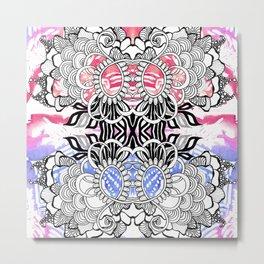 Rorshach 5 Metal Print