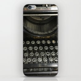 i'm a vintage type iPhone Skin