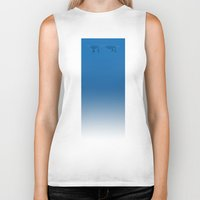 duck Biker Tanks featuring Duck by rob art   simple