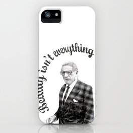 Beauty isn't everything iPhone Case
