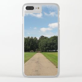 Symmetry In Hyde Park Clear iPhone Case