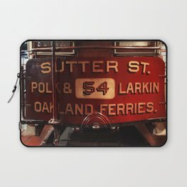 S.F. Cable Car Laptop Sleeve